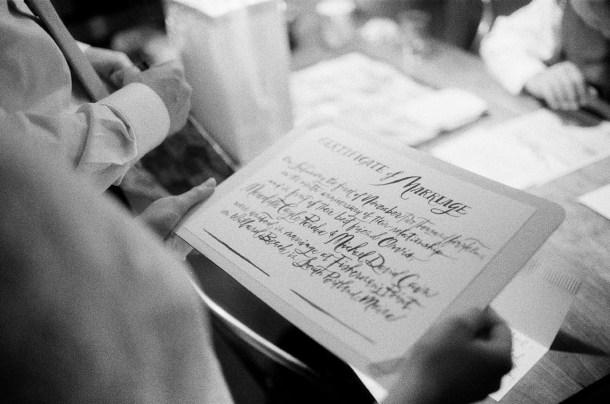 Li Ward Calligraphy, Photo by Sarah Der