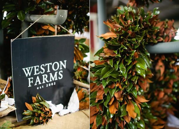 Weston Farms Magnolia Wreaths