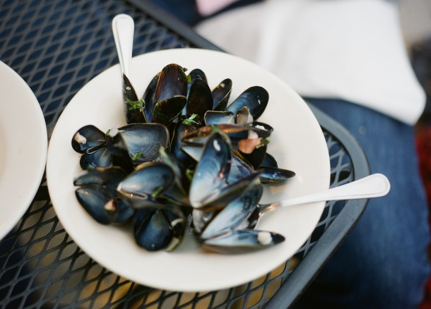 Mussels at Blue Spoon Maine