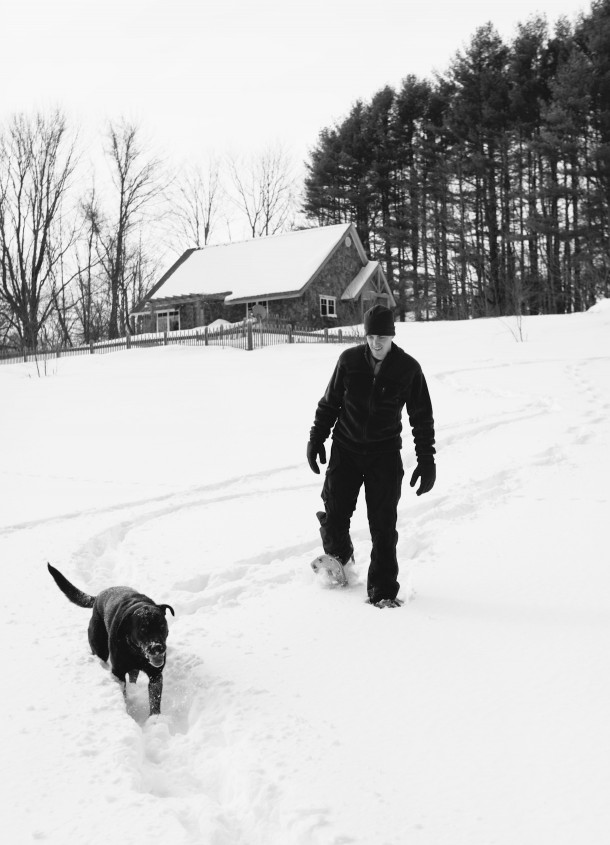 Snowshoeing at Marianmade Farm