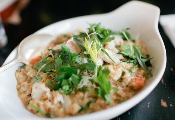 Crab Risotto Francine Bistro