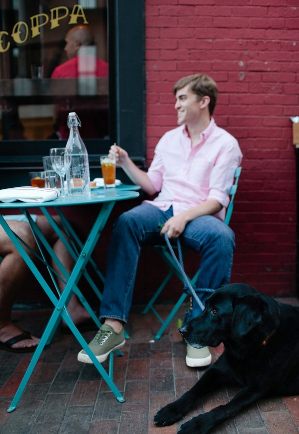 Coppa Boston Dog Friendly