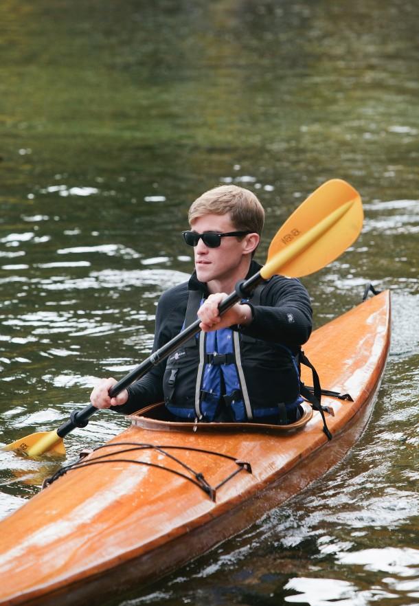 Michael Kayaking