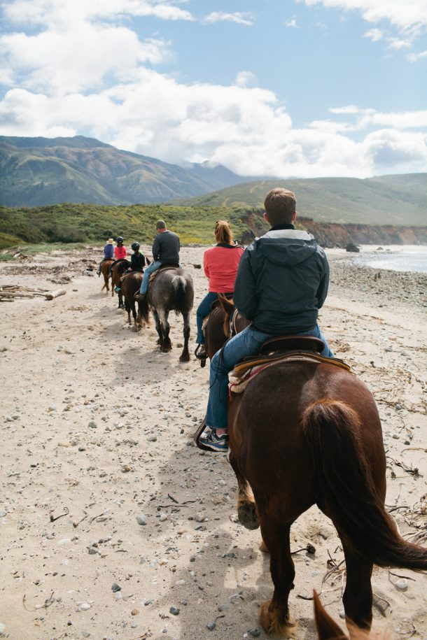 Big Sur Horseback Riding Tours