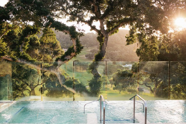 Hot Tub at Carmel Valley Ranch