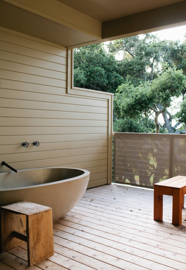 Carmel Valley Ranch Outdoor Soaking Tub