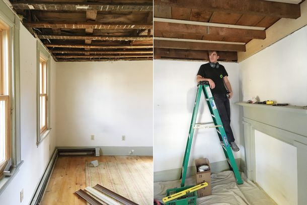 Exposed Beams DIY 18 Century
