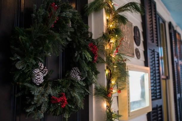 Hotel Fauchere at Christmas