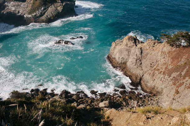Big Sur California Travel Guide by Map & Menu