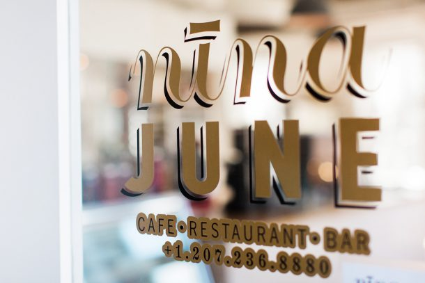 Saturday Brunch at Nina June in Rockport by Map & Menu