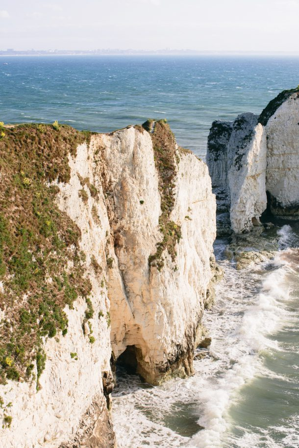 Old Harry Rocks, Dorset Travel Guide by Map & Menu