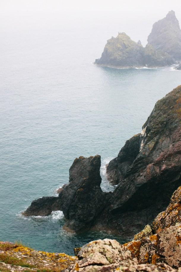 Kynance Cove Cornwall Travel Guide by Map & Menu