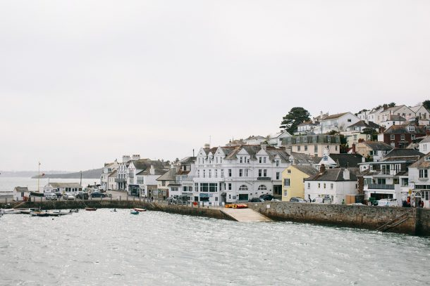 The Idle Rocks in St. Mawes Cornwall by Map & Menu