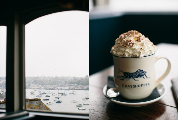 Star & Garter Falmouth Cornwall Travel Guide by Map & Menu