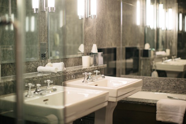 Bathrooms at Covent Garden Hotel