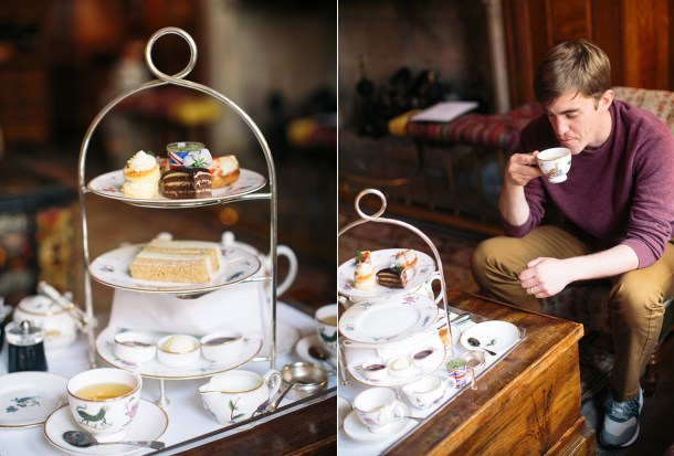 Afternoon Tea at London's Covent Garden Hotel on Map and Menu