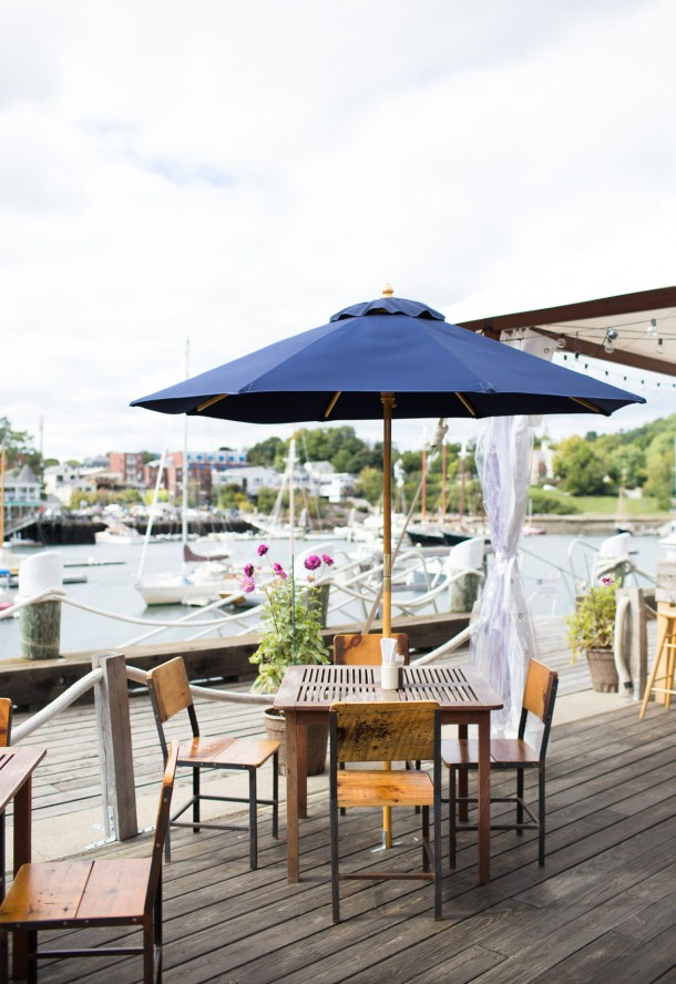 Rhumb Line Camden, Maine featured on Map & Menu