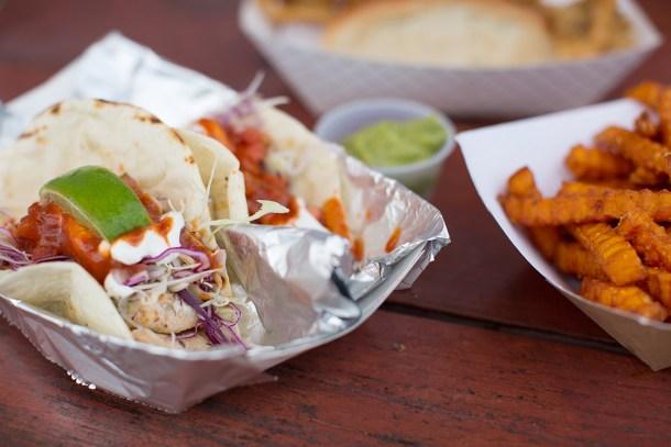 Fish Tacos at Sea Swirl Mystic