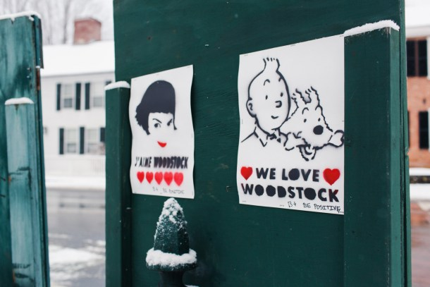 We Love Woodstock VT