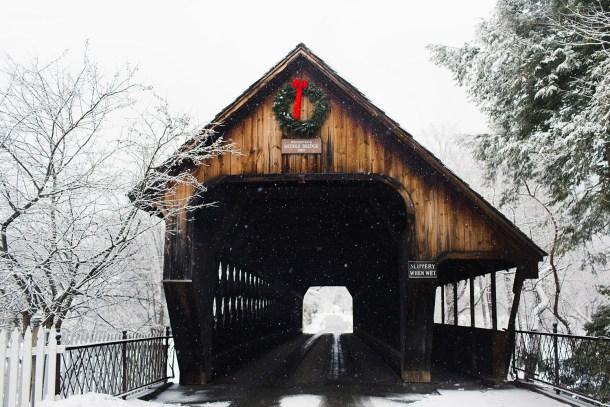 Woodstock Bridge Winter