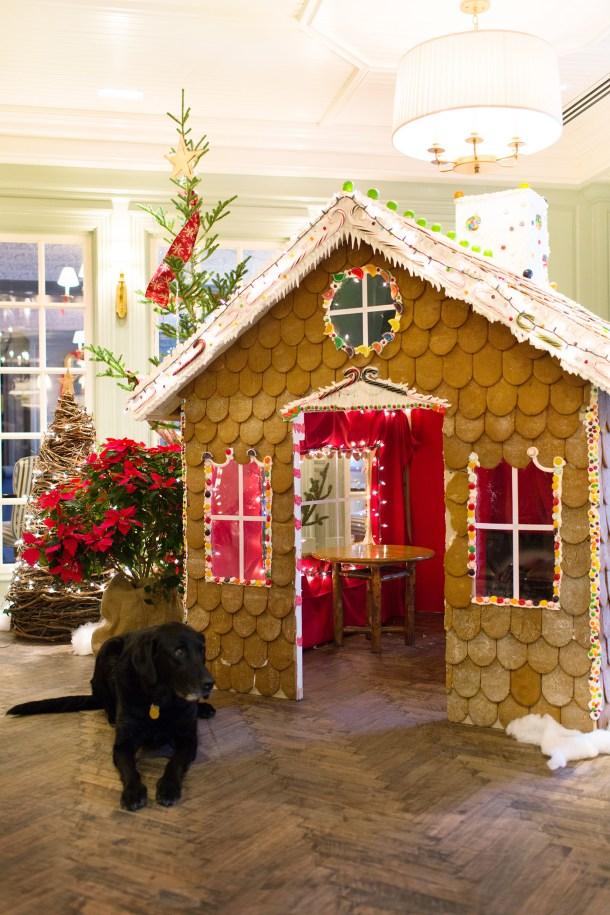 Woodstock Inn Gingerbread House