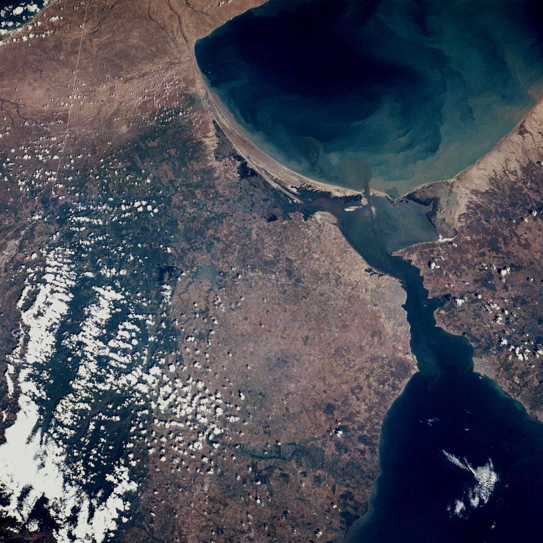 Mapa De Imagen Foto Satelite Del Area Del Lago Maracaibo