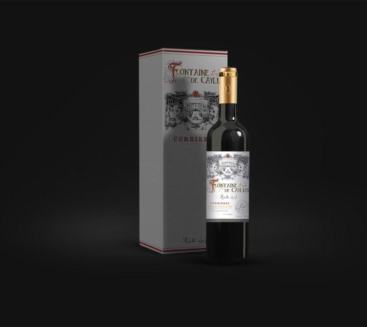 Packaging & étiquette de vin