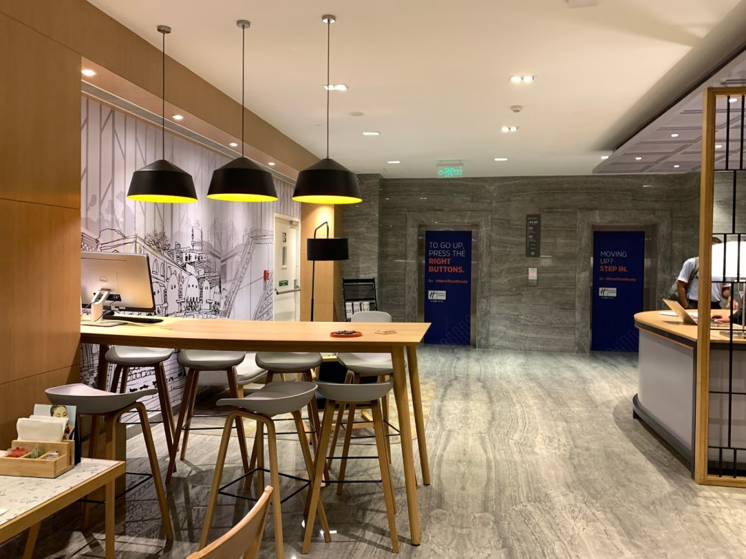 Holiday inn express Reception area