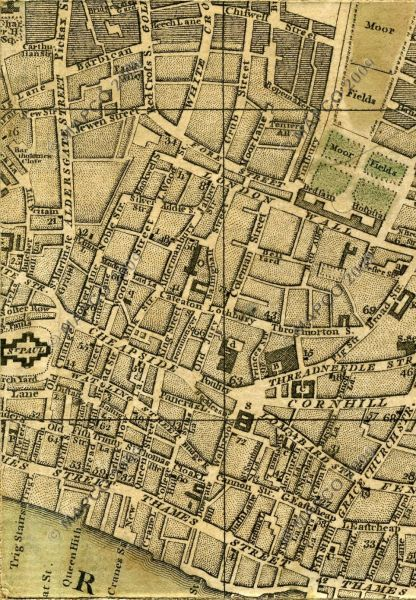 MAPCO Map And Plan Collection Online   Bowles s Reduced Plan Of     Bowles s Reduced New Pocket Plan Of The Cities Of London And Westminster  With The Borough Of