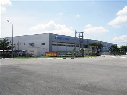 Nhà máy Saigon Stec - Bình Dương