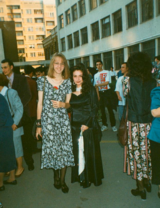 graduation day in Bulgaria