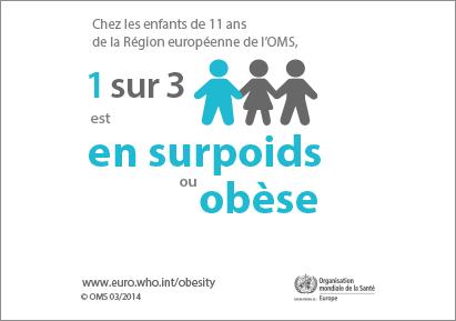 1 enfant sur 3 obèse