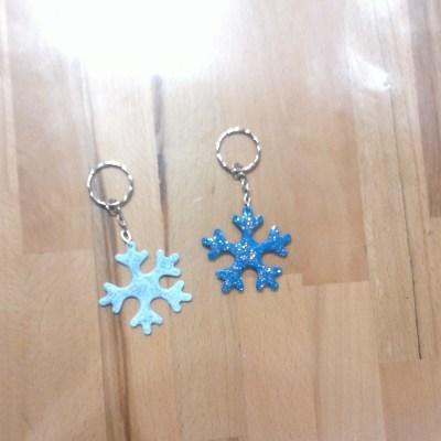 """Porte clés """"La Reine des Neiges"""""""