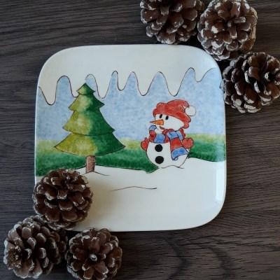 """Assiette """"Noël"""""""