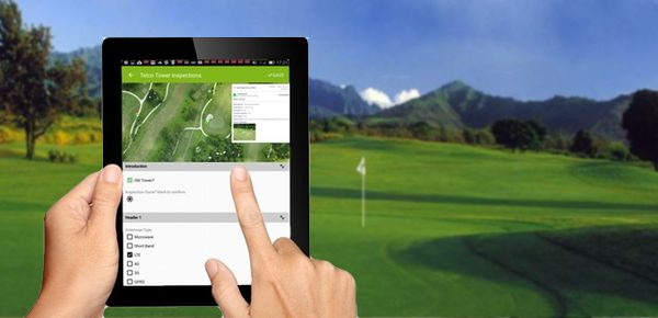 MapGage geospatial mobile app replacing turf manager paper forms to track turf related problems on top of drone maps. Issues can also be projected on NDVI maps.