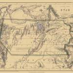 Old Historical City County And State Maps Of Utah