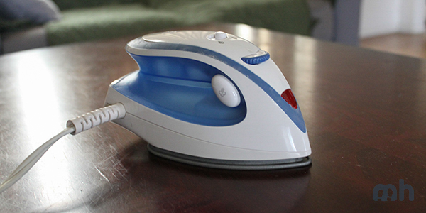 How the Sunbeam Travel Iron Holds Up on the Road via @maphappy