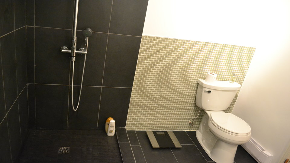 Dealing With the Ultimate Shower/Toilet Combo via @maphappy