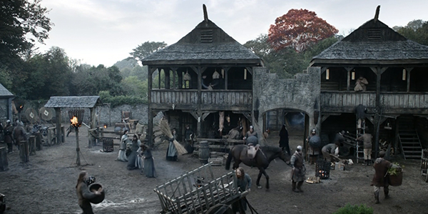 Transformed into Winterfell. (HBO)