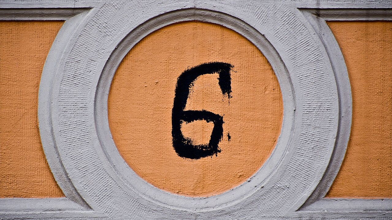 "Say It Right: The Number ""Six"" via @maphappy"