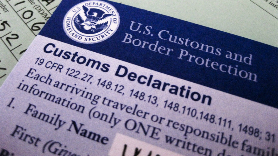 How To Fill out a U.S Customs Declaration Form, No Problem! via @maphappy