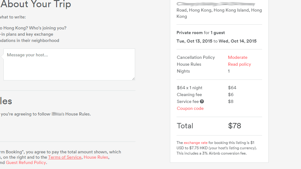 Airbnb Charges a Foreign Transaction Fee (and This Is How You Beat It) via @maphappy