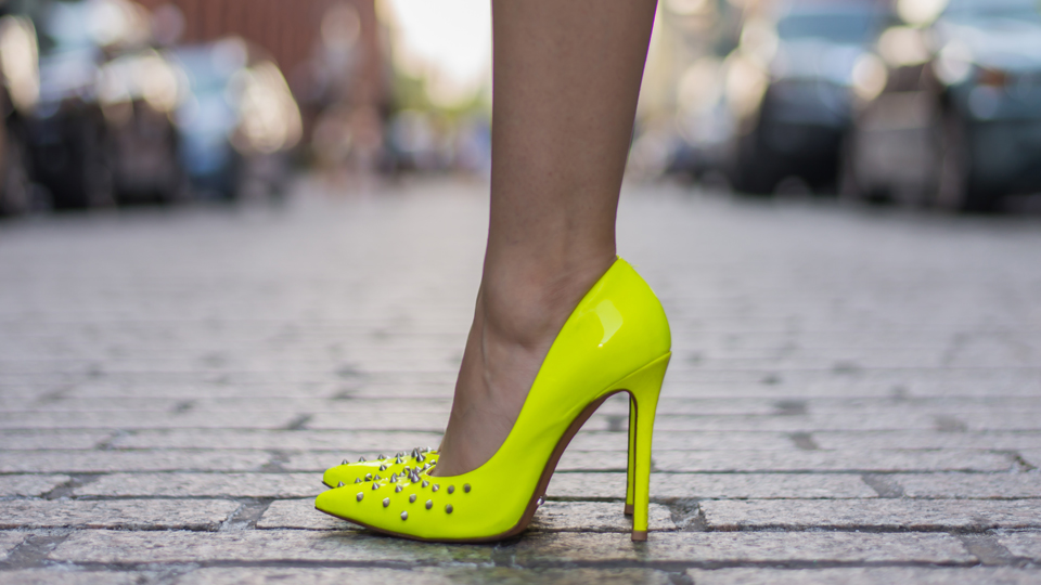 The Real Reason High Heels Don't Fly at the Airport via @maphappy