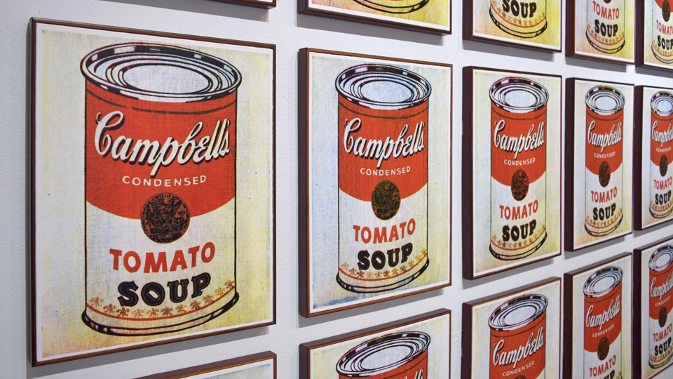 Good for more than just a Warhol painting. (Andy Warhol: 32 Campbell's Soup Cans / Flickr)