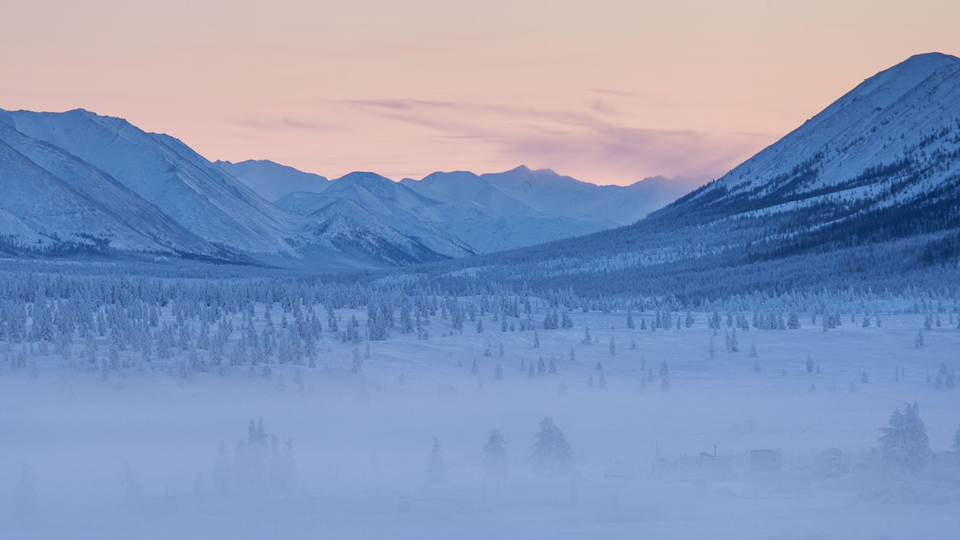 Just outside Oymyakon.(Maarten Takens / Flickr)