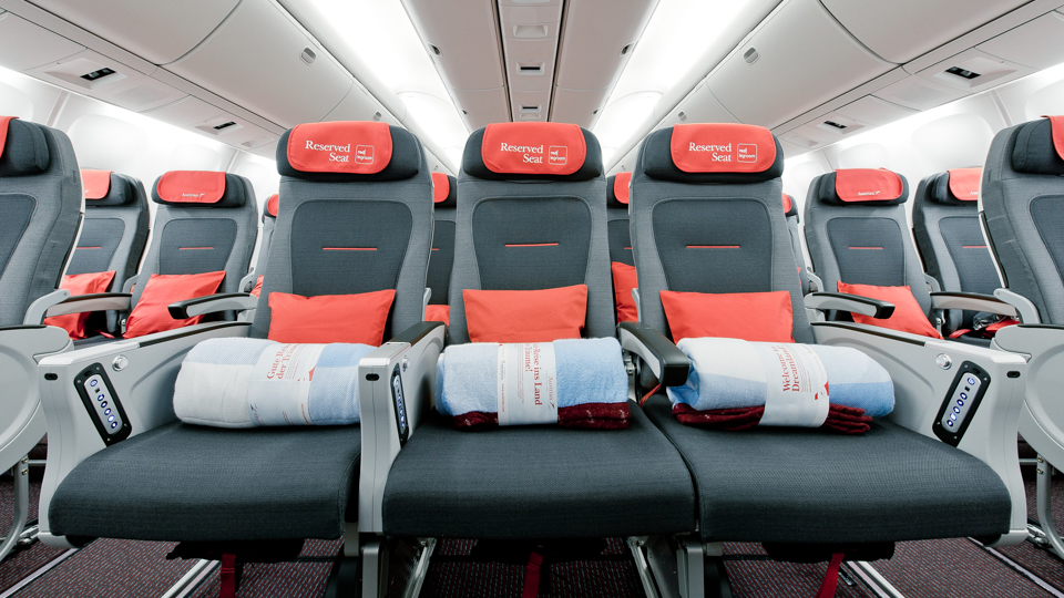 Don't touch my seat. (Austrian Airlines / Flickr)