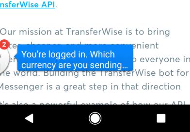 TransferWise's Facebook Messenger Bot Isn't Great for Sending Money