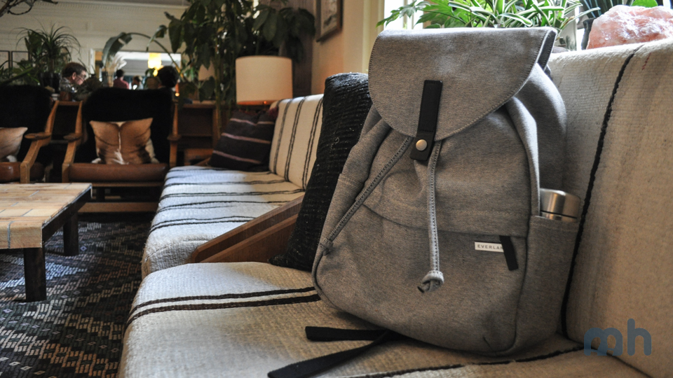 The Everlane Modern Twill Single Snap Backpack Is a Great Buy for the Price via @maphappy