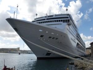MSC Opera in Grand Harbour