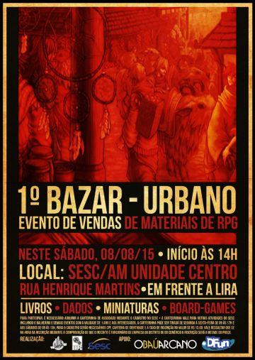 Mapingua Nerd - Bazar Urbano